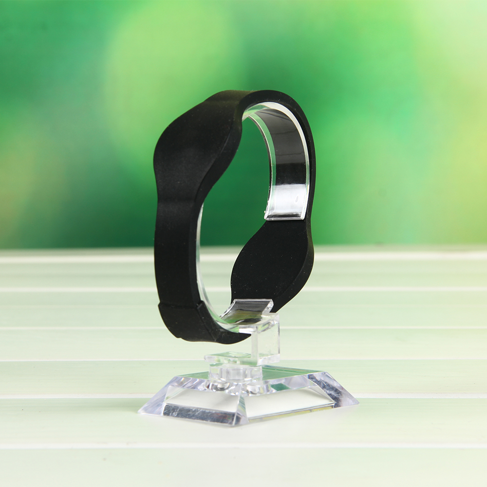 Dual chip watch buckle rfid wristband