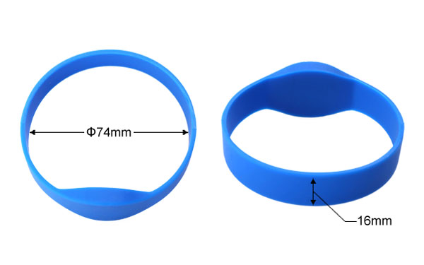 High quality rfid wristband5